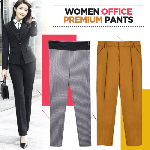 New Collection...!!! Woman Office Long Pants/Office Pants/Long Pants/Ladies Pants Deals for only Rp55.000 instead of Rp55.000