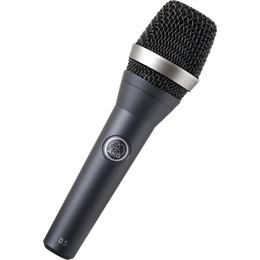 AKG D5 (S) Professional Super-Cardioid Dynamic Vocal Microphone