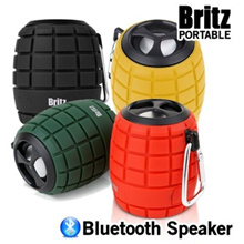 Britz BZ-G100 GRAB Water Dust Shock Proof Portable Bluetooth Speaker For Smart Device
