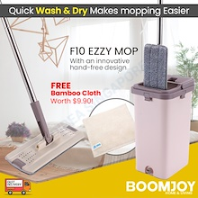 ✔✔FREE DELIVERY- HOMELITE F10 EZZY MOP with bucket! TOP SELLER . LOOK NO FURTHER Cheapest in Qoo10