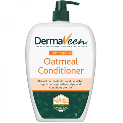 DermaVeen Daily Nourish Oatmeal Conditioner 1 Litre Expiry Date: August 2021