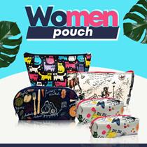 [ Product Baru ] Tas Kosmetik / Bag Pouch /Dompet Emas
