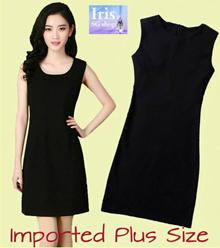 Korean Style♥Plus Size Dress♥S-4XL♥Black / Red Dress♥Work Dress♥Office Dress♥Dinner♥Casual Wear