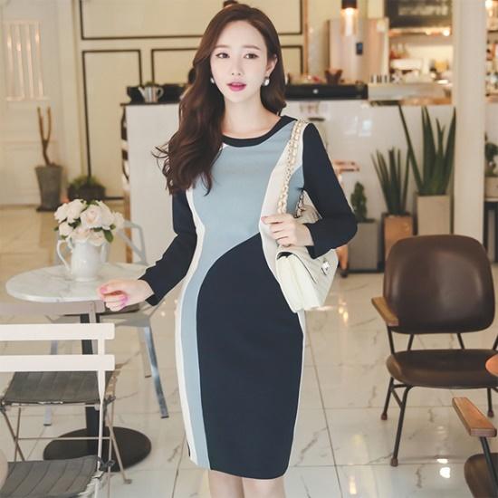 るみさん江良カンカンロングコットン・ワンピース 綿ワンピース/ 韓国ファッション