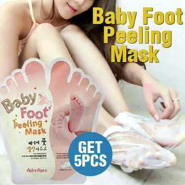 BUY 1 GET 5 BABY FOOT PEELING MASK ORIGINAL KOREA / MASKER KAKI