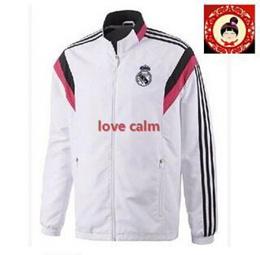 Thai version 14-15 Real Madrid training suit coat jacket Arsenal Barcelona Chelsea Manchester United