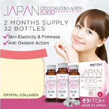 #1 Made in Japan★ITOH Japan CrystalCollagen 5300★2 Months Supply★