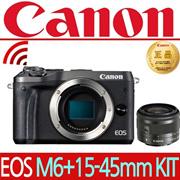 [Canon]◆Genuine◆EOS M6+14-45mm lens kit/Mirraris/Produced in Korea