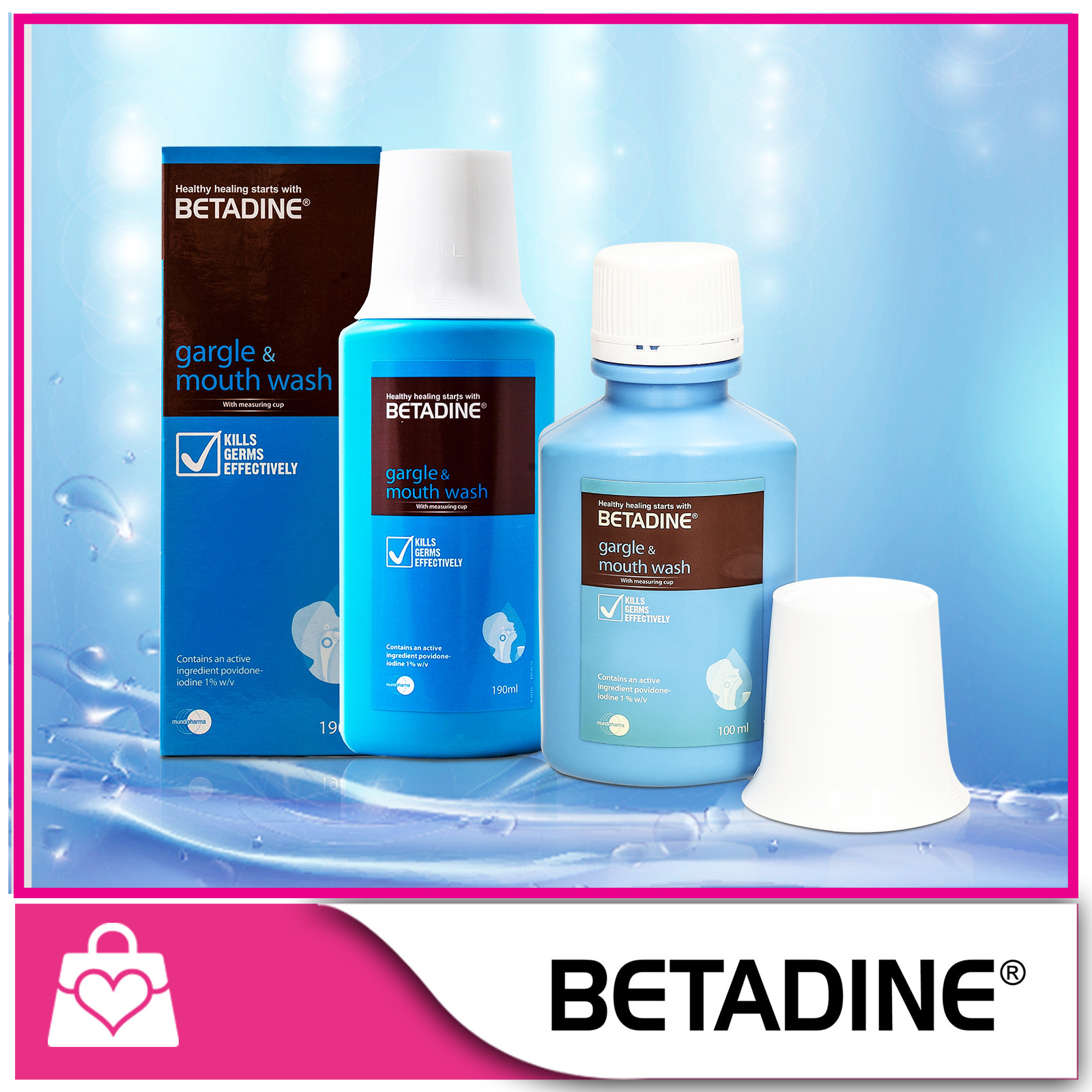 Qoo10 10 Off Betadine Gargle And Mouth Wash 1 100ml 190ml 5 Ml Fit To Viewer