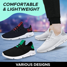Men sports shoes comfortable Korean fashion running shoes Comfortably  breathable 3684cbed99d1