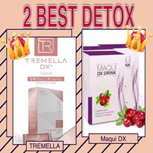 2 BEST DETOX IN MALAYSIA ~ TREMELLA DX AND MAQUI DX (COMBO PROMOTION)