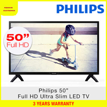 PHILIPS 50PFT4002 50INCH ULTRA SLIM LED TV 3 YEAR WARRANTY