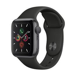 애플워치 시리즈5 GPS 스페이스 그레이 밴드 시계