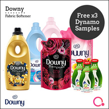 [PnG] FREE Dynamo Satchel Downy Fabric Softener Bottle/Refill 1.5/1.8L