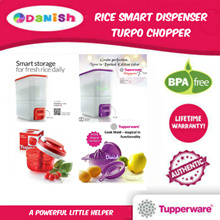 Tupperware Rice Smart Dispenser/Turpo Chopper/Best Present/Birthday Gift/ Mothers Day/Free Delivery