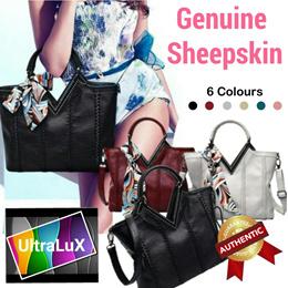 ❤️Genuine Sheepskin Leather Ladies Bag❤️Soft and Smooth Women Handbag