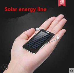 8000OM solar charging treasure ultra-thin portable mobile phone universal MIUI mobile power