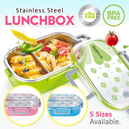 [10.10] BPA FREE Stainless Steel Food Container/Lunch Box