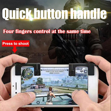 2 pcs PUBG Shooting Mobile Games Assist Tool Sensor Game Assist Shortcut Key for STG shooting Games