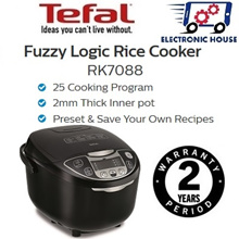 ★Tefal RK7088 Rice Cooker Fuzzy Logic 1.8L ★ (2 Years Warranty)