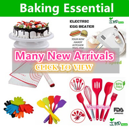 ★IMP HOUSE★Baking Tools/ Electric Egg Beater/hand mixer/Cake Mixer/Cake turntable/Baking Mat/Glove