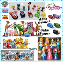 ★Paw Patrol Figurines★Cake toppers★Birthday ★Trolls★Cars★Princess★ Pokemon★Avengers★Pooh★Pony★