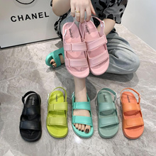 Womens Summer Korean Sandals student shoes for womens beach shoes