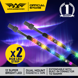 NEWLY LAUNCHED | $10 RGB LIGHT STRIPS (2X) | AURORA +|16.8 MILLION COLORS | UP TO 1.5M | LOCAL STOCK