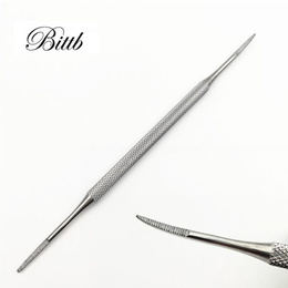 Bittb Foot Nail Care Hook Ingrown Double Ended Ingrown Toe Correction Lifter File Manicure Pedicure