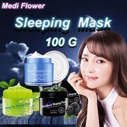 [Medi Flower] Sleeping Mask Pack Green tea Blackberry Snow