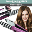 Sonar Catok Beauty Hair Curler 2 in 1 SN-790 - Ungu