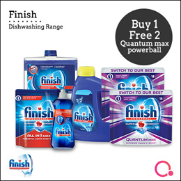 [RB]【Buy 1 FREE 2】Finish Dishwasher/ Tablets | Stocks from Singapore
