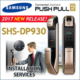 ★HOT!!★2017 NEW Model! SHP-DP930 Fingerprint PUSH GOLD / Dp710 EZON SAMSUNG DIGITAL DOORLOCK
