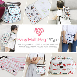 ★Toddler backpack 13Type★Bless Linky Bag/Bless Food Pouch/Bless Multi Pouch