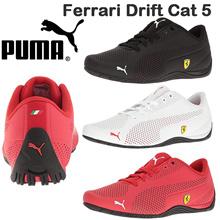 PUMA Mens Ferrari Drift Cat 5 Ultra Sneaker