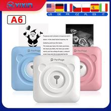 Printer     mobile phone bluetooth portable photo hand account thermal label printer