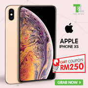 Apple iPhone XS Single Sim + eSIM / Apple iPhone XS Max Dual Sim  ~ 1 Year Seller Warranty