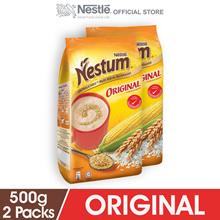 NESTLE NESTUM All Family Cereal Original Softpack 500g  2 Packs