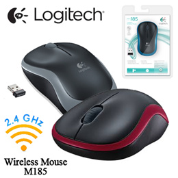 [Logitech] Plug-and-play Wireless Mouse M185