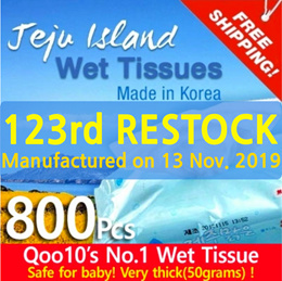 ◆108th RESTOCK◆Jeju Wet Wipes/ Manufactured on 27. Mar. 2019