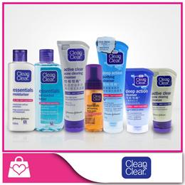(1+1) Clean and Clear Facial Cleanser /Toner / Moisturiser