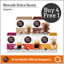 【DOLCE GUSTO®】NDG | Capsules Bundle【 BUY 4 FREE 1 】Add on 1 and Use Qoo10 $10 Cart Coupon
