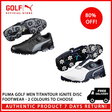 PUMA GOLF Men Titantour Ignite Disc Footwear - 2 Colours to Choose ★ FREE DELIVERY ★ AUTHENTIC