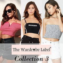 Collection 3 | Tank Top/Crop Top/Sleeveless Top/Tumblr/Trendy/Off Shoulder/Flutter/Tube NEW IN