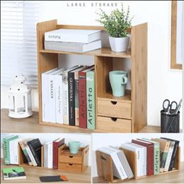 Table Bookshelf /Multi-layer Bookshelf / Space saving Bookrack/ Big Volume Book rack