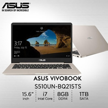 Asus S510UN-BQ215TS / Intel® Core™ i7-8550U processor 1.8 GHz / 2 year international warranty