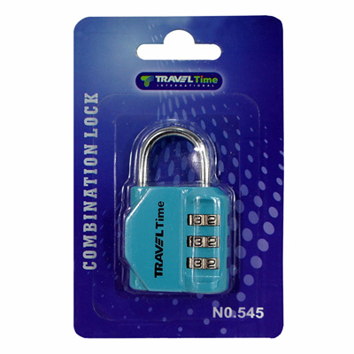 Qoo10 - Time travel Combination Lock 545 - Tosca - Travel Accessories : Kitchen & Dining