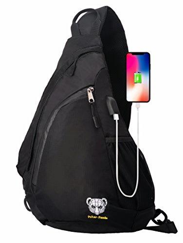 6ed4270724ef Sling Backpack Crossbody Bag for Women   Men Travel Shoulder Chest Bags One  Strap Hiking   Outdoo...