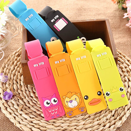 Lovely Silicone Travel Luggage Tags Baggage Suitcase Bag Labels Name Address