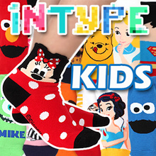 [KID SOCKS] INTYPE Disney Moomin Marvel Heroes NEW KIDS invisible socks TODDLER YOUTH MADE IN KOREA